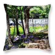 Wellspring Of Life Throw Pillow
