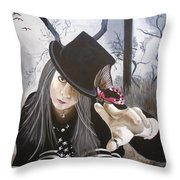 Wendy Wonker Throw Pillow