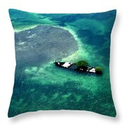 West By West Of Key West Throw Pillow