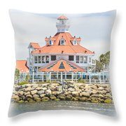West Coast Charm Throw Pillow