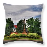 West Ferry Circle Throw Pillow