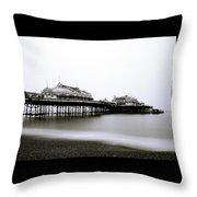 Brighton West Pier Throw Pillow
