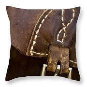 Western Chaps Detail Throw Pillow