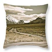 Western Glory Throw Pillow