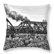 Western Maryland Railroad Throw Pillow