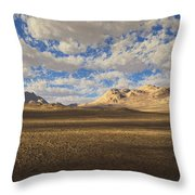 Western Scene Throw Pillow