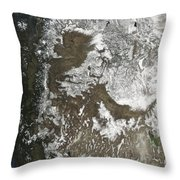 Western United States Throw Pillow by Stocktrek Images