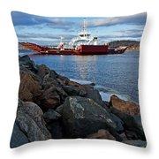 Westfield Ferry Throw Pillow