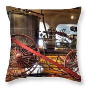 Westinghouse Engine Dearborn Mi Throw Pillow