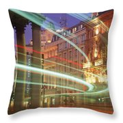 Westmoreland Street, Dublin, Co Dublin Throw Pillow