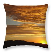 Westview Throw Pillow by Michael Cuozzo