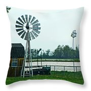 Wet And Wendy Throw Pillow