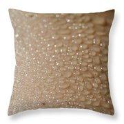 Wet Skin Throw Pillow