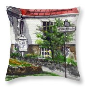 Wetheredsville Street Throw Pillow