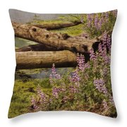 Wetland Beauty Throw Pillow