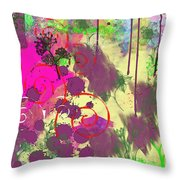 What A Mess  Throw Pillow