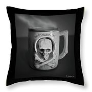 What A Mug Throw Pillow