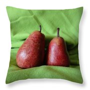 What A Pear Throw Pillow