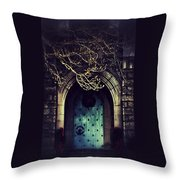 What Awaits Beyond Throw Pillow