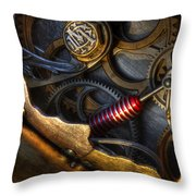 What Gear Am I In You Might Ask Throw Pillow by Bob Christopher