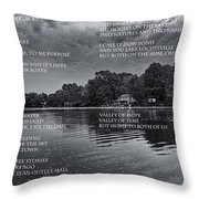 What Is This Place Throw Pillow