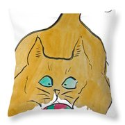 What Ornament Throw Pillow