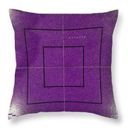 Whatever You Focus On Expands Throw Pillow