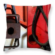 Whats Noose Throw Pillow
