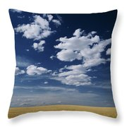 Wheat Field, Central Washington Throw Pillow