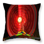 Wheel In The Sky Throw Pillow by Gordon Dean II