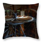 Wheeler Dealer Throw Pillow by Bob Christopher