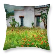 When A House Is A Home Throw Pillow