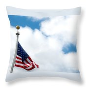 When Shall Truth Set Us Free? Throw Pillow