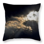 When The Night Has Come Throw Pillow
