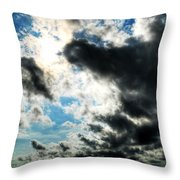 When The Storm Subsides Throw Pillow