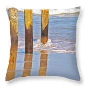 When The Tide Comes In Throw Pillow