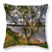 When The Wind Whistles Throw Pillow