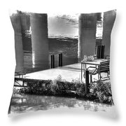 When You Were Gone Throw Pillow