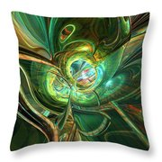 Where Digital Abstract Was Born Fx  Throw Pillow