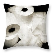 Where Is My Spare Roll Hc V3 Throw Pillow