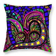 Where The Life Goes Throw Pillow