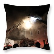 Where There Is Smoke-1 Throw Pillow