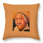 Whether To Cry Or To Smile Throw Pillow