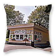 Whippi Dip Throw Pillow