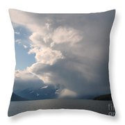 Whirling Storm Throw Pillow
