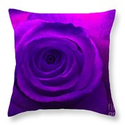 Whirlpool Rose Throw Pillow