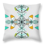 Whirly Birds Throw Pillow