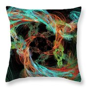 Whirly Gig Throw Pillow