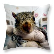 Whiskers The Name Throw Pillow