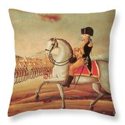 Whiskey Rebellion, 1794 Throw Pillow by Photo Researchers